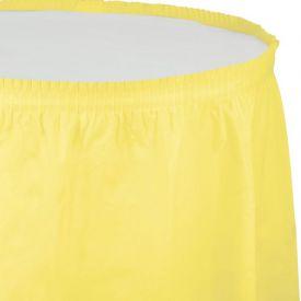 Mimosa Table Skirts Plastic 14'