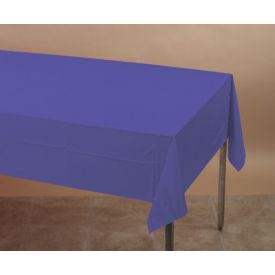 Purple Table Cover  Plastic 54