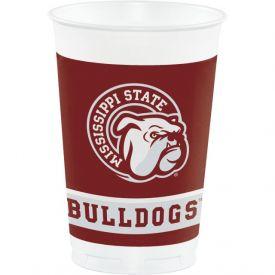 Mississippi State Univ Plastic Cups, 20 Oz