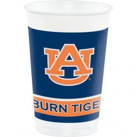 Auburn University Plastic Cups 20 oz