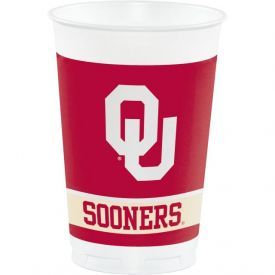 University of Oklahoma Plastic Cups, 20 Oz