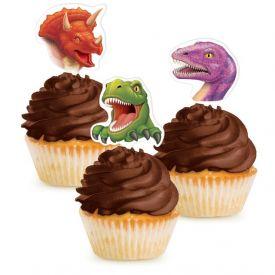 Dino Blast Cupcake Topper