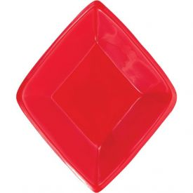 Card Night Tray, Plastic Mini Snack, Diamond