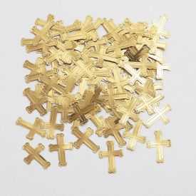 Confetti, Gold Crosses