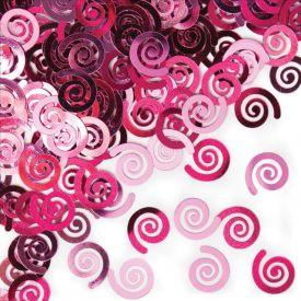 Confetti, Candy Pink Swirls