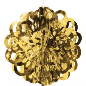 Gold Diecut Foil Ball 16