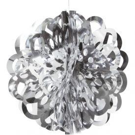 Silver Diecut Foil Ball 16