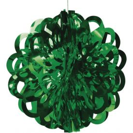 Green Diecut Foil Ball, 16