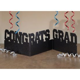Congrats Grad Glitter Accordion Centerpieces
