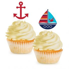 Ahoy Matey! Cupcake Topper