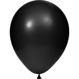 Balloons Black Velvet Latex Balloons, 12