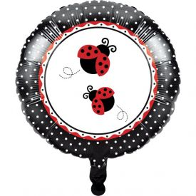 Ladybug Fancy Metallic Balloon