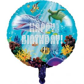 Ocean Party Metallic Balloon