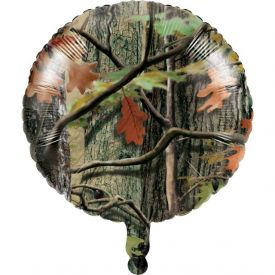 Hunting Camo Metallic Balloon
