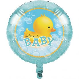 Bubble Bath Metallic Balloon