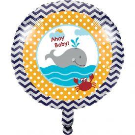 Ahoy Matey! Metallic Balloon