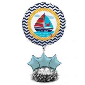 Ahoy Matey! Air Filled Balloon Centerpiece Kit