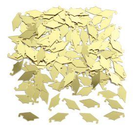 Mortarboard Gold Confetti