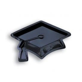 Mortarboard Plastic Shaped Tray