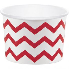 Red & White Treat Cups