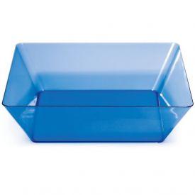 Trendware Translucent Blue Square Bowls 11