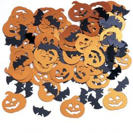 Bats and Pumpkins Confetti