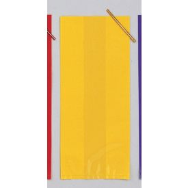 Cello Bags, Large, Yellow