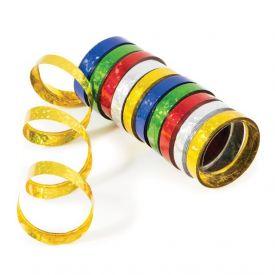 Serpentine Streamers, Holographic, Multicolor