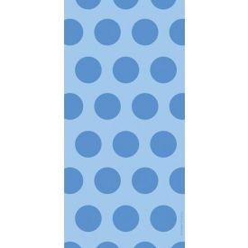Cello Bags, Two-Tone, True Blue Dots