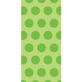 Lime Dots Cello Bags, Two-Tone