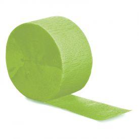 Crepe Streamer Fresh Lime 81'