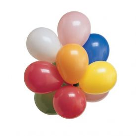 Latex Balloons Round Assorted Colors 7