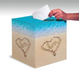 Beach Love Card Box 12