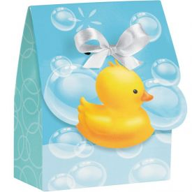 Bubble Bath Favor Bags Diecut with Ribbon