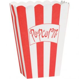 Hollywood Lights Popcorn Boxes Small