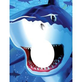 Shark Splash Photo Op Banner