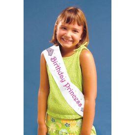 Sash, Plastic, Birthday Princess