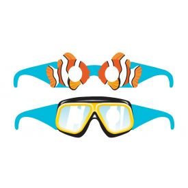 Ocean Party Wearable Glasses, Paper