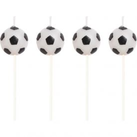 Sports Candles Soccer Molded Pick Sets