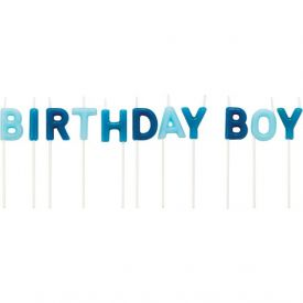 Candles Pick Letter Sets Birthday Boy Print