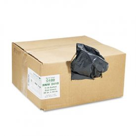 Earthsense; Linear LD Recycled Can Liners, 24 x 23, 7-10 Gal, 0.85 mil