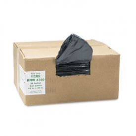 Earthsense; Linear LD Recycled Can Liners, 43 x 48, 56 Gal, 1.25 mil