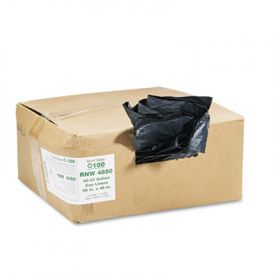 Earthsense; Linear LD Recycled Can Liners, 40 x 46, 40-45 Gal, 1.25 mil
