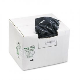Earthsense; Linear LD Recycled Can Liners, 40 x 46, 40-45 Gal, 1.65 mil