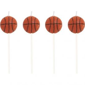 Sports Candles Basketball Molded Pick Sets