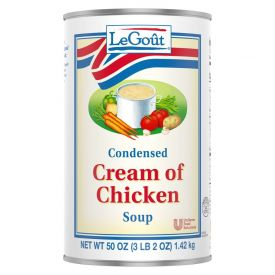 Legout Cream Of Chicken Soup - 50oz