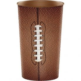 Football Plastic Cup 22 oz
