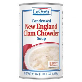 Legout New England Clam Chowder Soup 51oz