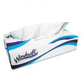Windsoft® White Facial Tissue