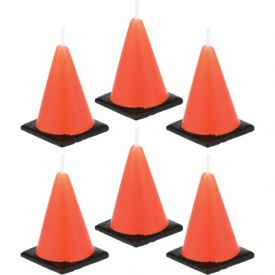 Candles Construction Cone Molded Sets